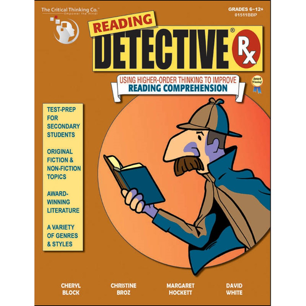 reading detective critical thinking co Reading detective® b1 → using higher-order thinking to improve reading comprehension teaches a depth of analysis by the critical thinking co 500.
