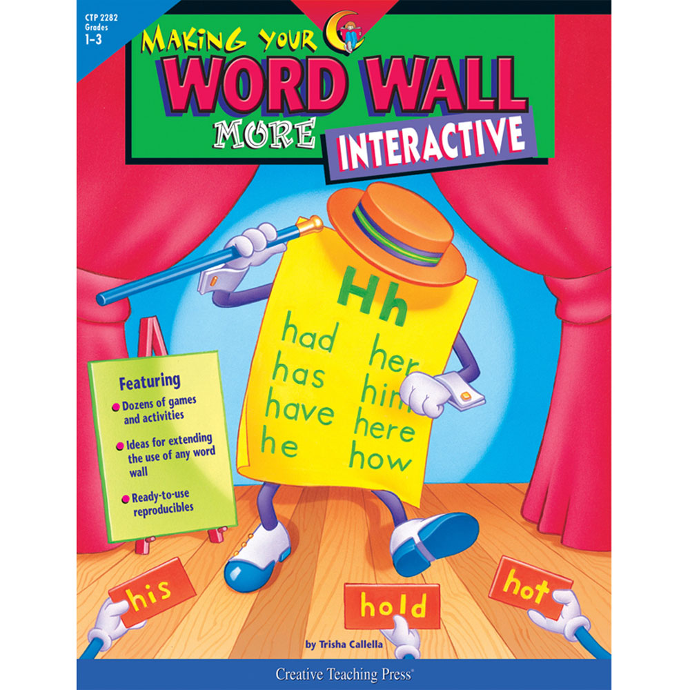 Making Your Word Wall More Interactive - CTP2282 | Creative Teaching ...