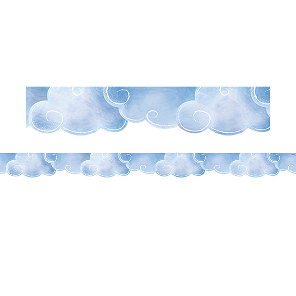 1 yard 5 inches x 44 inches END OF BOLT Metallic Cloud Magic Meadow Unicorn Double Border Print from Michael Miller Fabric 41x44