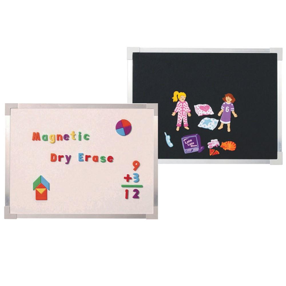 Magnetic Dry Erase And Flannel Board 18 X 24 Flp10720 Flipside Dry Erase Boards