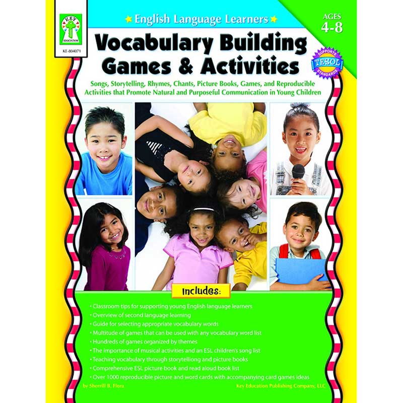 vocabulary recollection through games 10 esl vocabulary games to get your students seriously engaged trying to teach a group of intermediate students ain't easy at this level, rehashing the basics is a bore and introducing more advanced topics can result in frustration.