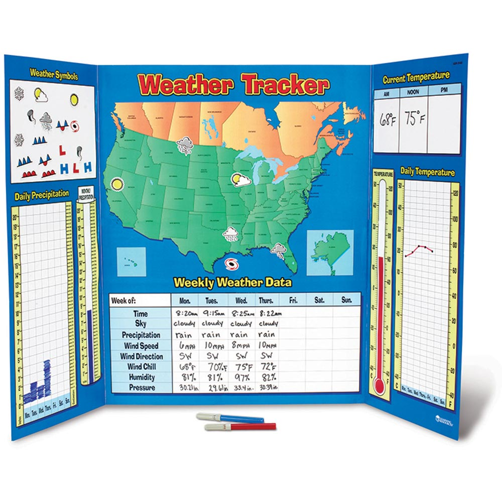 Weather Tracker - LER2145 | Learning Resources | Science