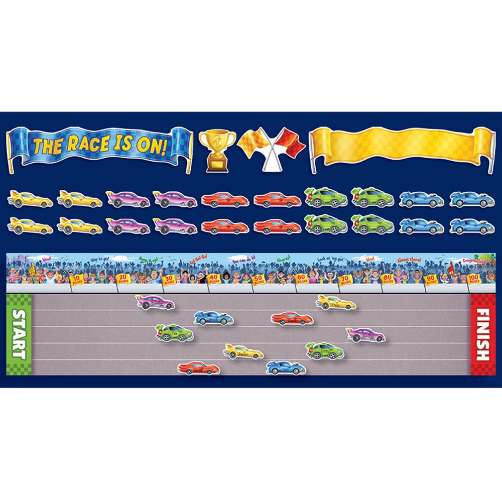 the race is on bb set sc 541741 scholastic teaching resources