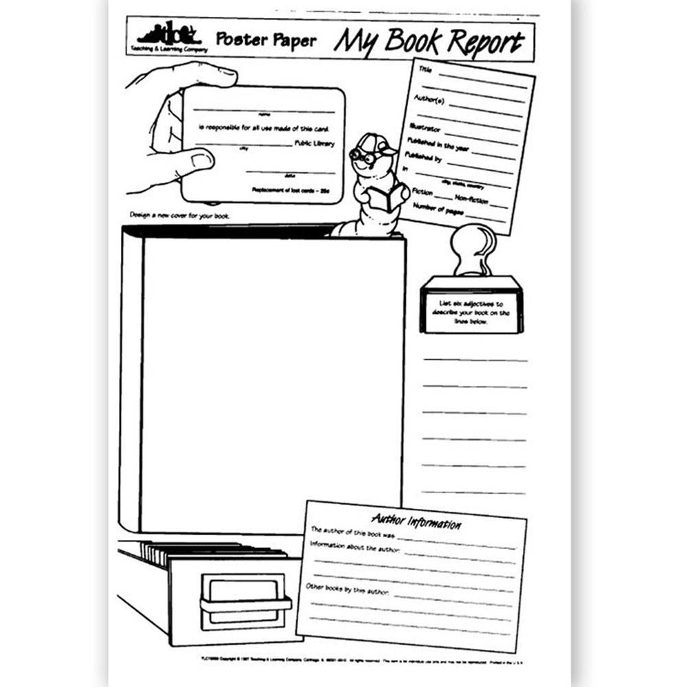 my book report poster paper Book report poster (updated) posted on may 25, 2013 by squarehead teachers it's legal size (paper) worksheet and is great for lower grades (or as an easy project for upper grades) great end of the year project (present on your favorite book from the year) or as an end of the quarter/semester.