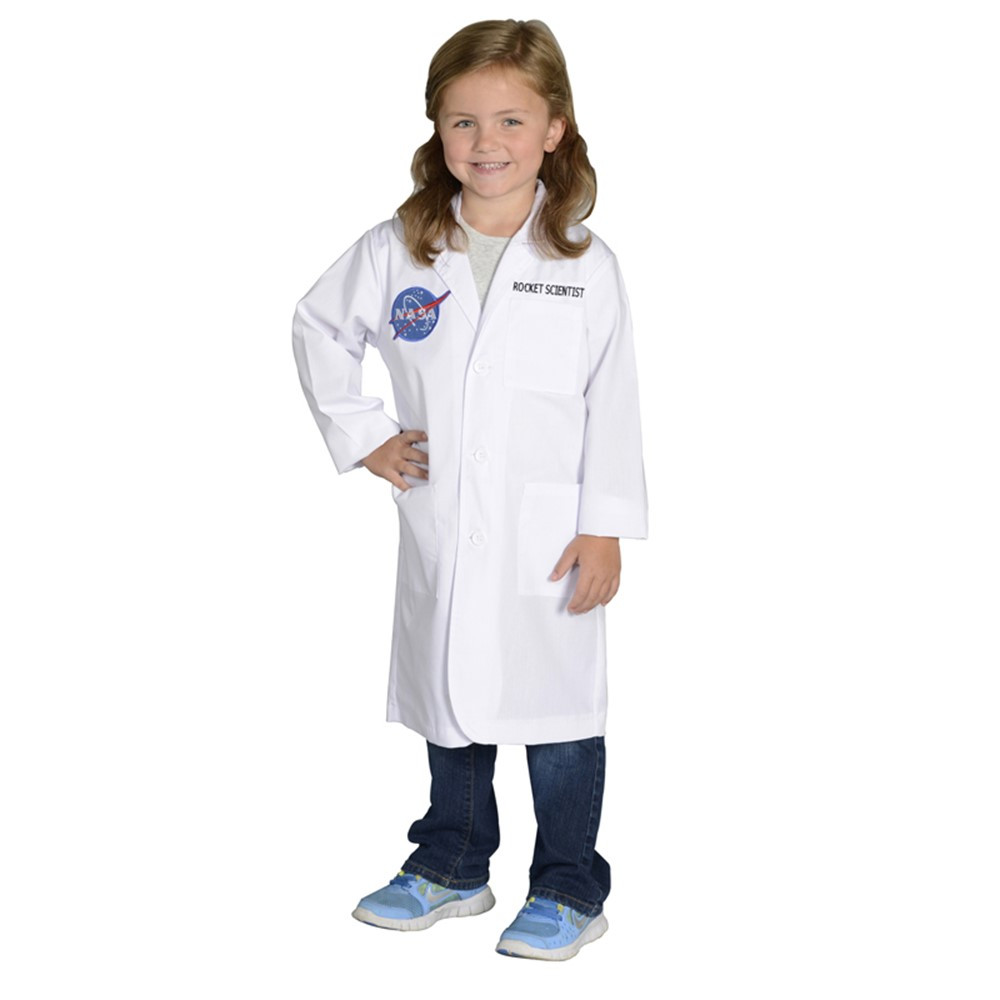 AEALRS68 - Rocket Scientist Lab Coat Size 6-8 in Role Play