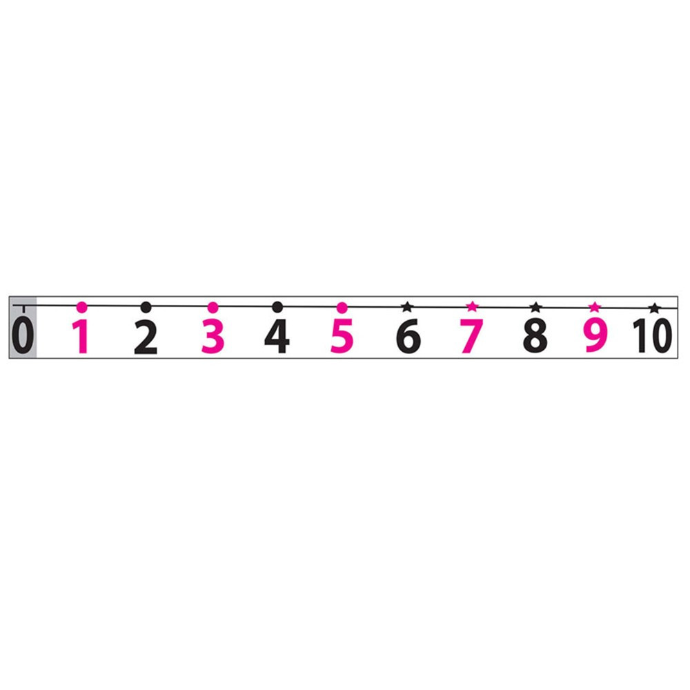 ASH11300 - Math Die Cut Magnets Number Line 20 To 120 in Number Lines
