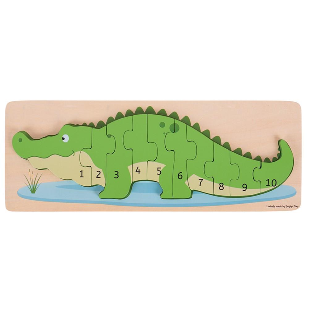 BJTBJ029 - Crocodile Number Puzzle in Puzzles