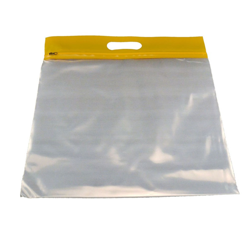 BOBZFH1413Y - Zipafile Storage Bags 25Pk Yellow in Storage Containers