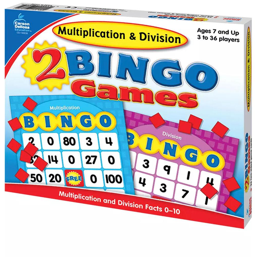 CD-140039 - Multiplication & Division Bingo in Bingo