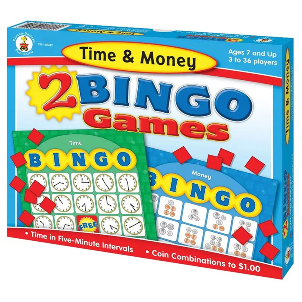 CD-140042 - Time & Money Bingo in Bingo