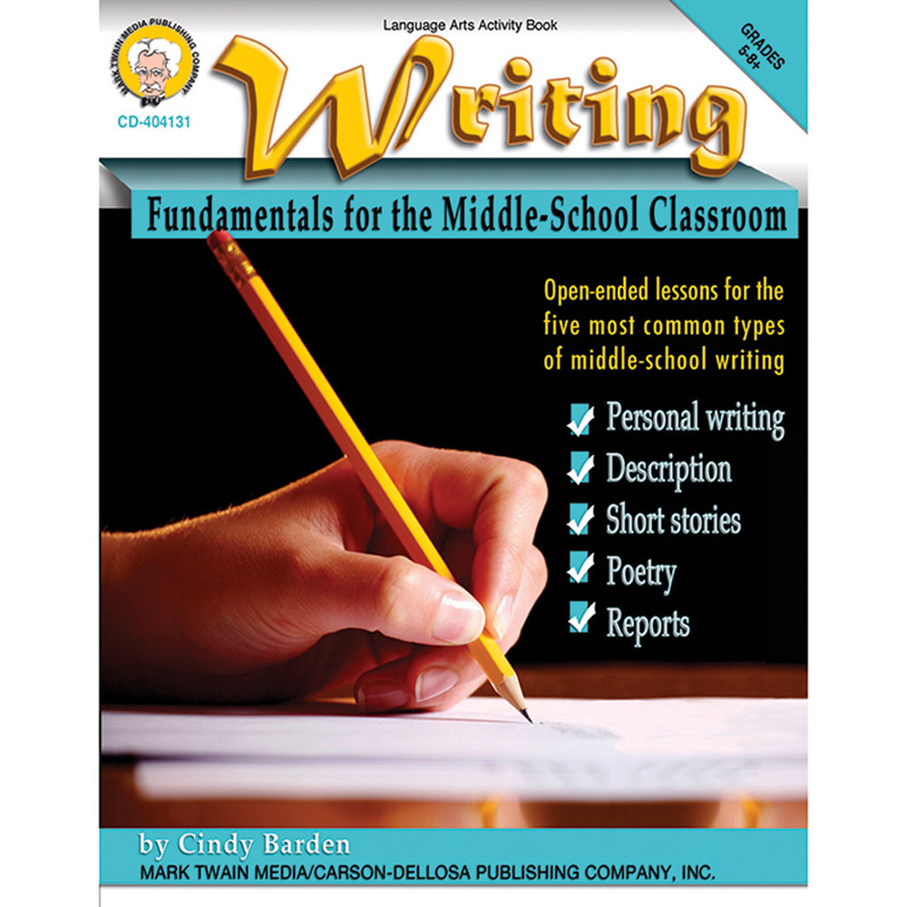 descriptive writing activities middle school