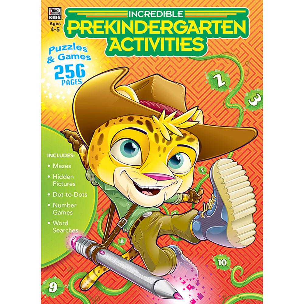 CD-705029 - Incredible Prekindergarten Acts in Classroom Activities