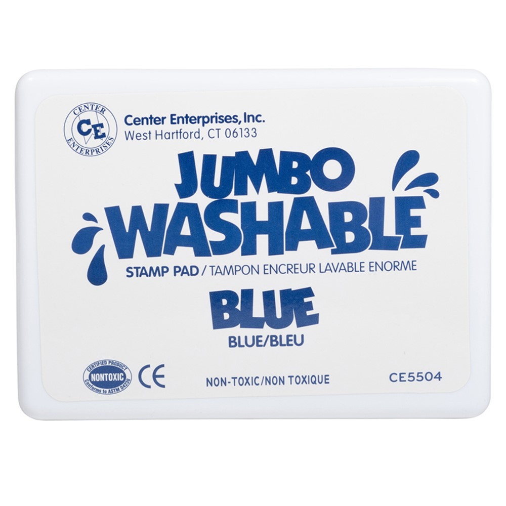 CE-5504 - Jumbo Stamp Pad Blue Washable in Stamps & Stamp Pads