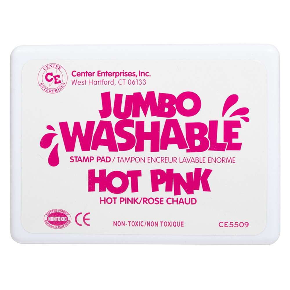 CE-5509 - Jumbo Stamp Pad Hot Pink Washable in Stamps & Stamp Pads