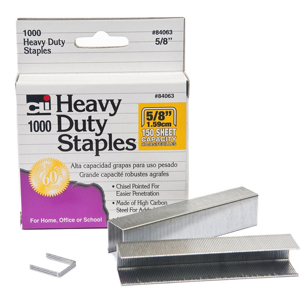 CHL84063 - Extra Heavy Duty Staples 5/8 in Staplers & Accessories
