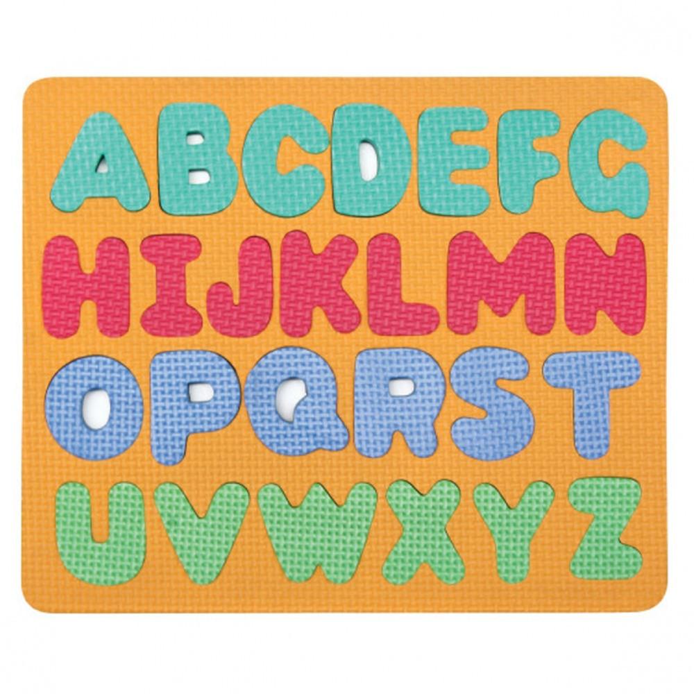 CK-4419 - Wonderfoam Magnetic Capital Letters Puzzle Set in Alphabet Puzzles