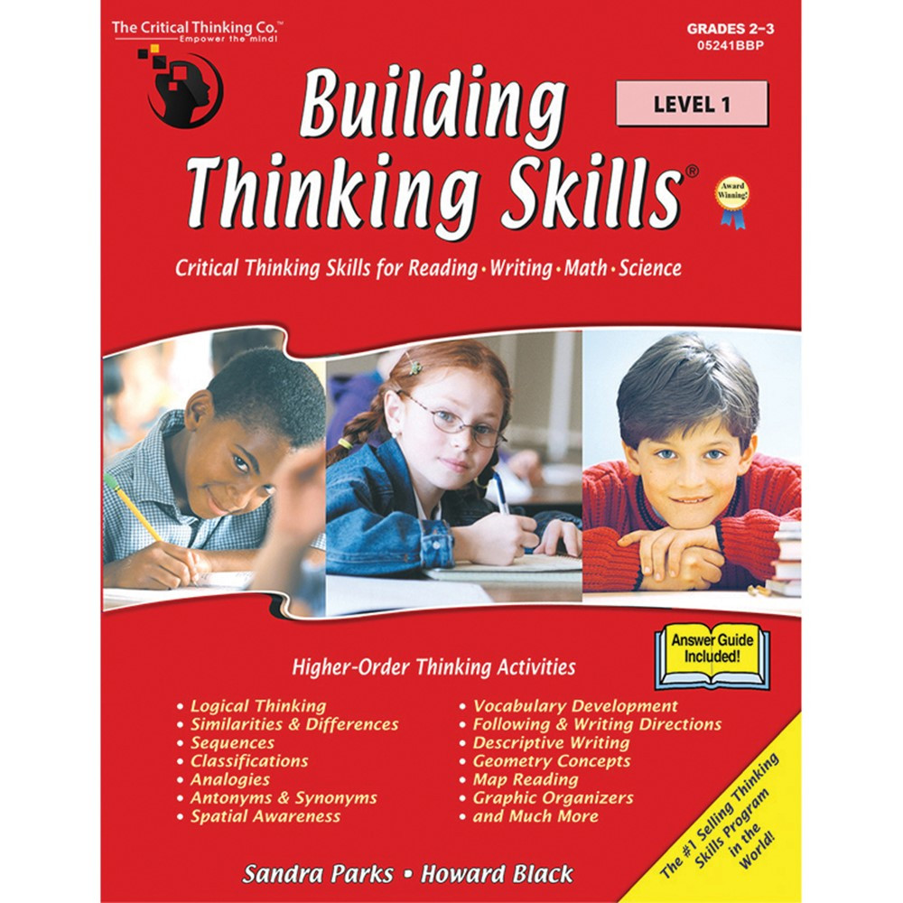 building critical thinking skills review Multiple perspectives: building critical thinking skills review the idea of perspective and connect it and critical thinking skills through the use of the.