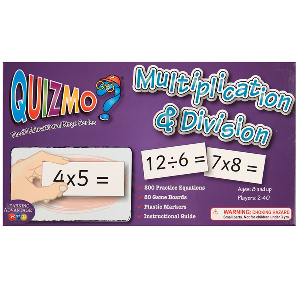 CTU8243 - Quizmo Multiplication & Division in Quizmo