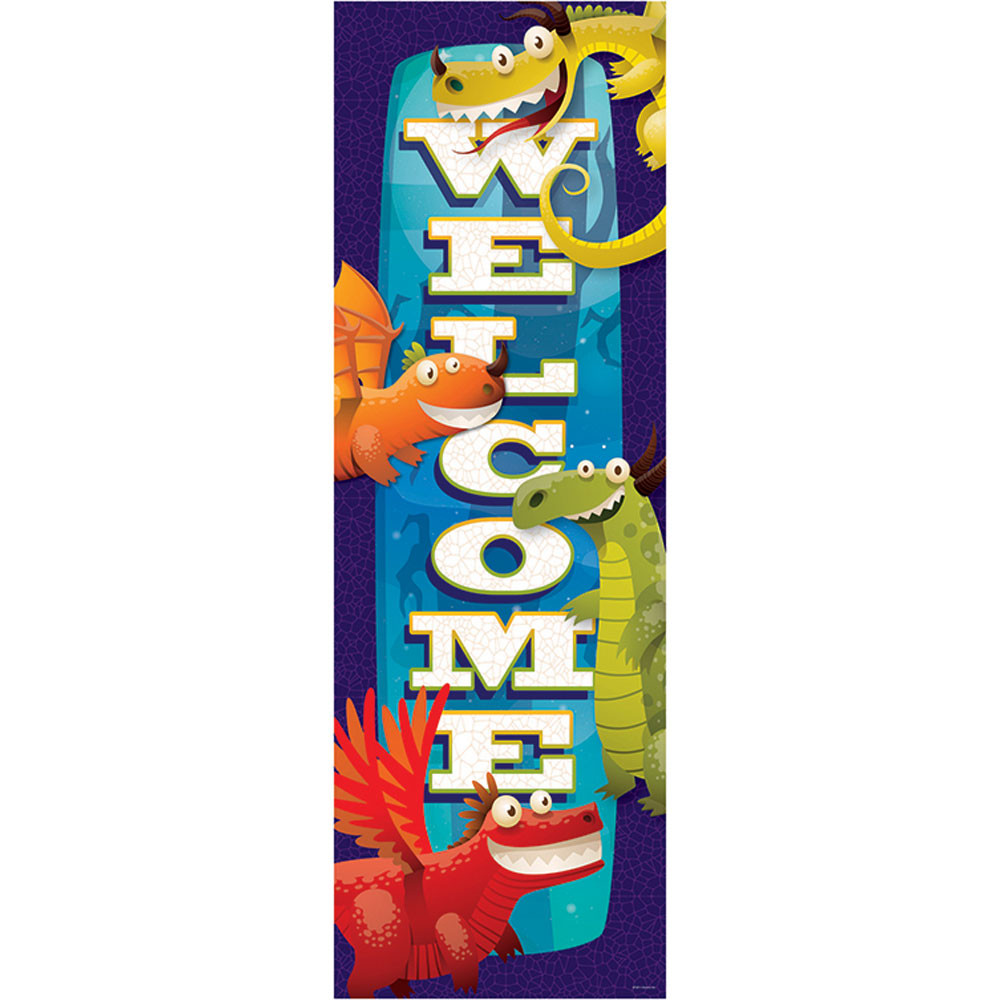 EP-387 - Dragon Welcome Banner in Banners
