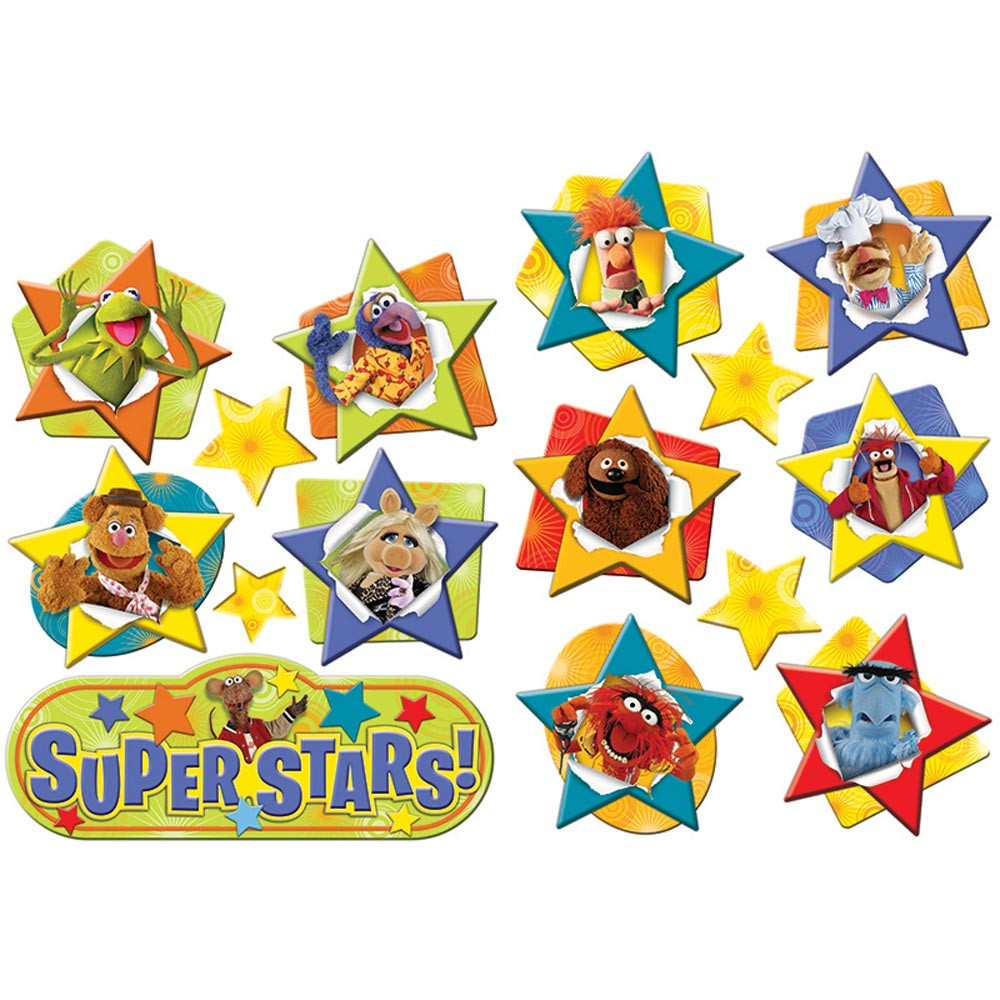 EU-840155 - Muppets  2-Sided Deco Kit in Two Sided Decorations