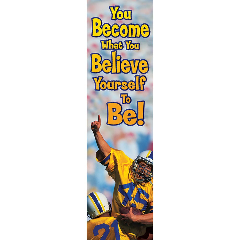 EU-849451 - You Become What You Believe Jumbo Banner in Banners