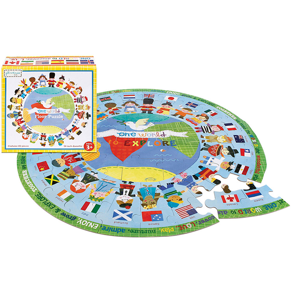 EU-BJP411448 - One World Puzzle in Puzzles