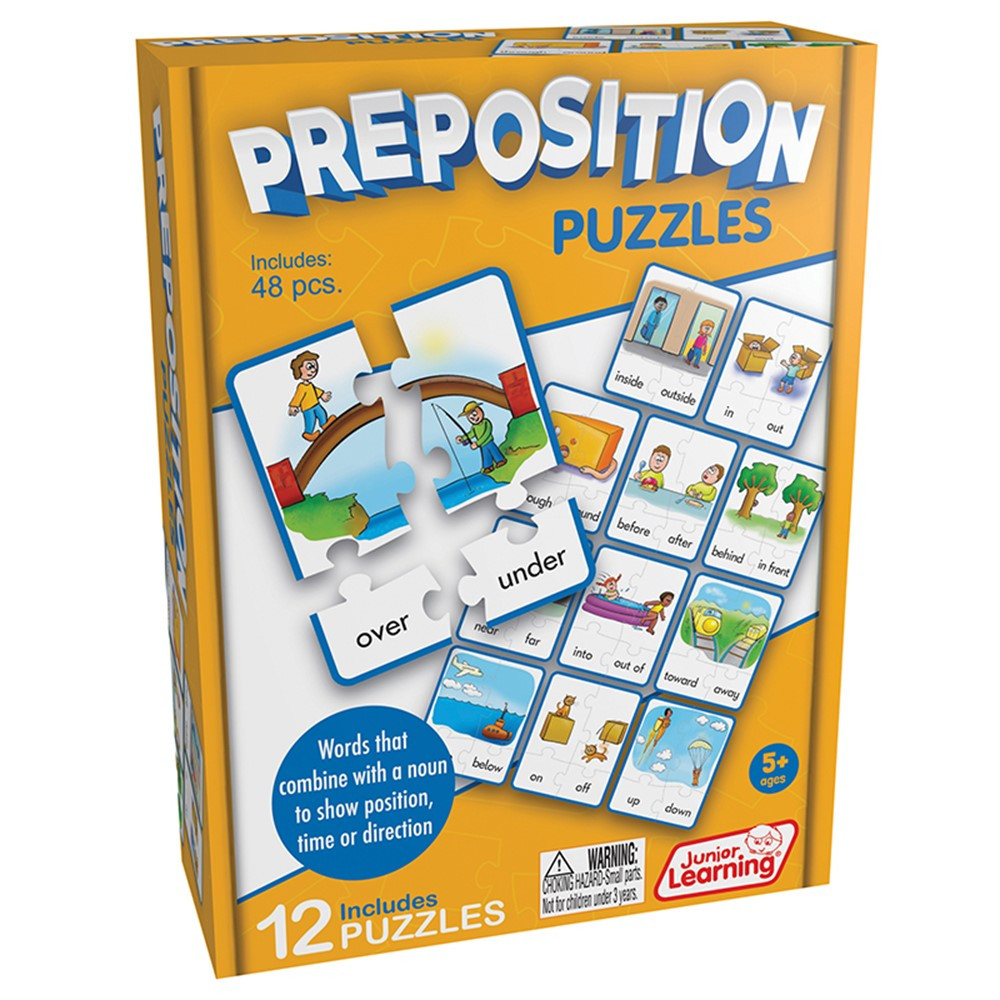 JRL245 - Preposition Puzzles in Puzzles