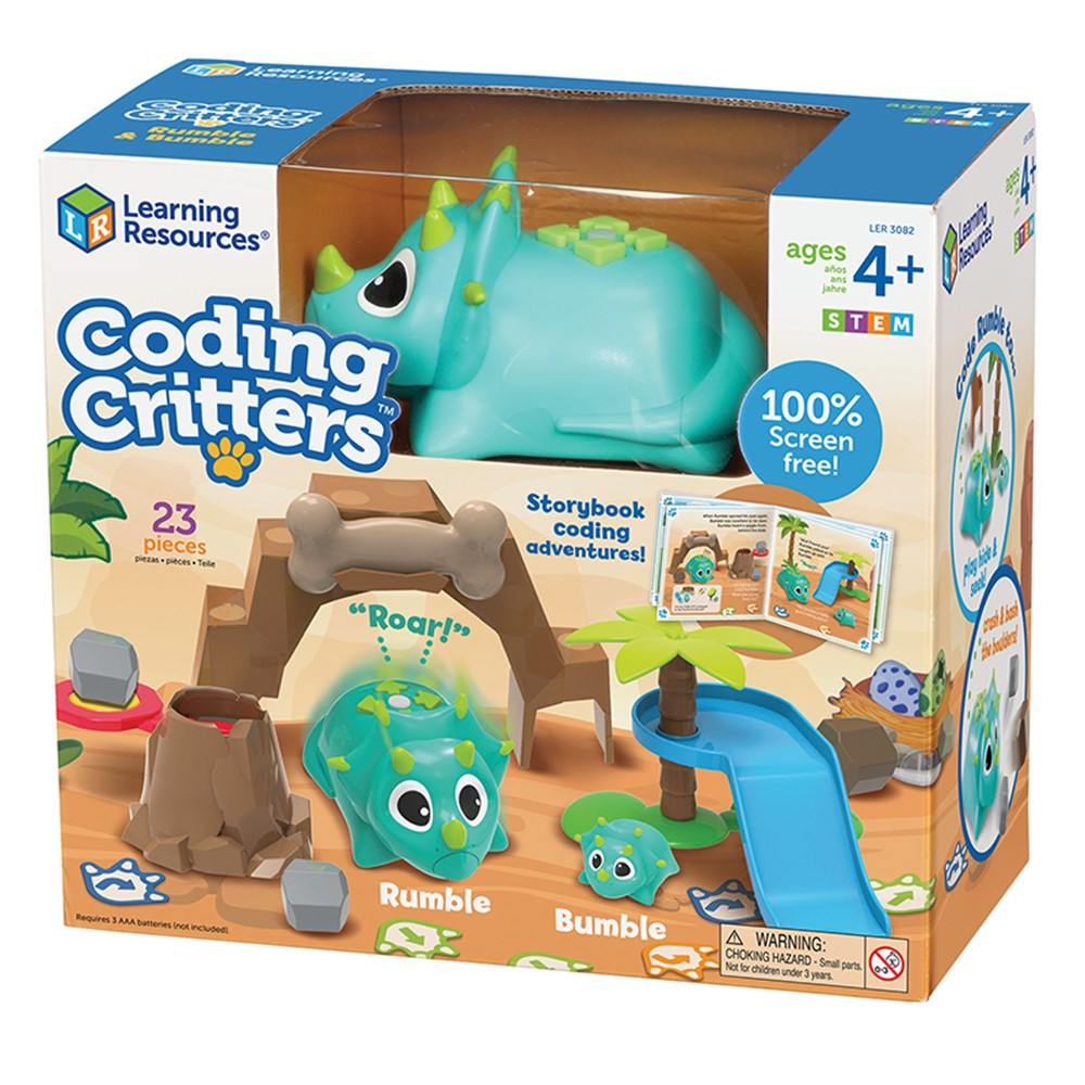 Coding Critters, Rumble & Bumble - LER3082   Learning Resources   Toys