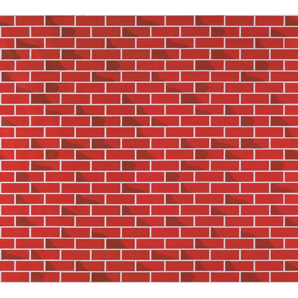 PAC56478 - Fadeless 48X12 Tutone Brick 4Rls/Ct in Bulletin Board & Kraft Rolls