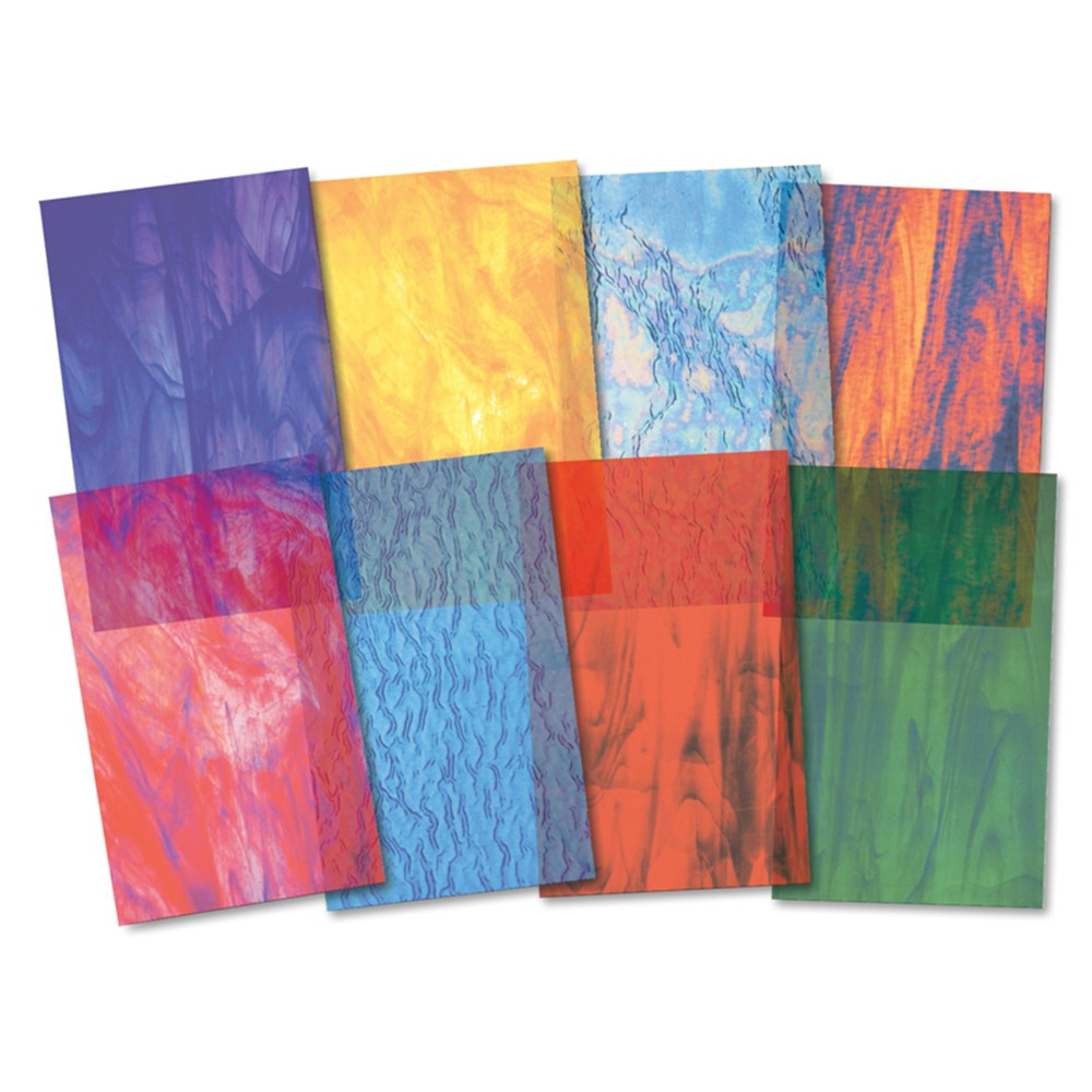 R-15257 - Stained Glassine Paper in Craft Paper