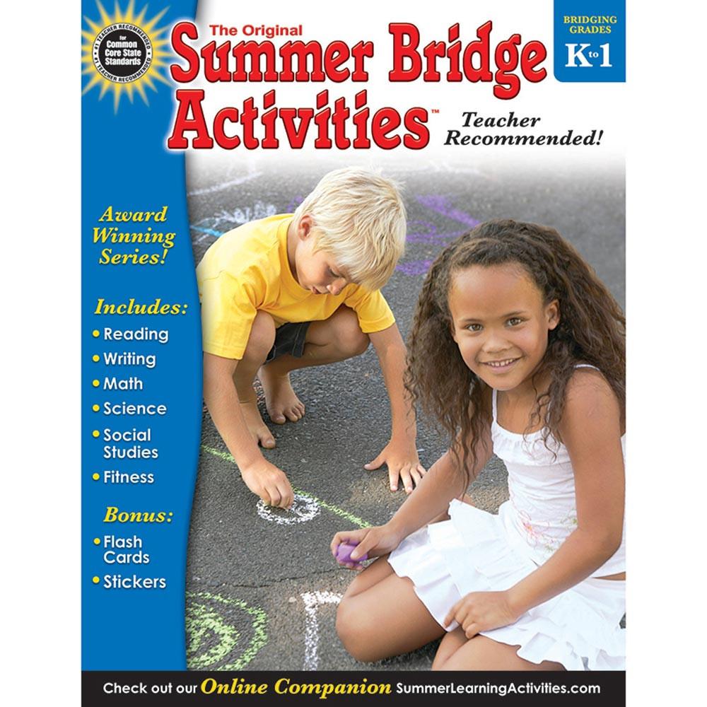RB-904156 - Summer Bridge Activities Book Gr K-1 in Skill Builders
