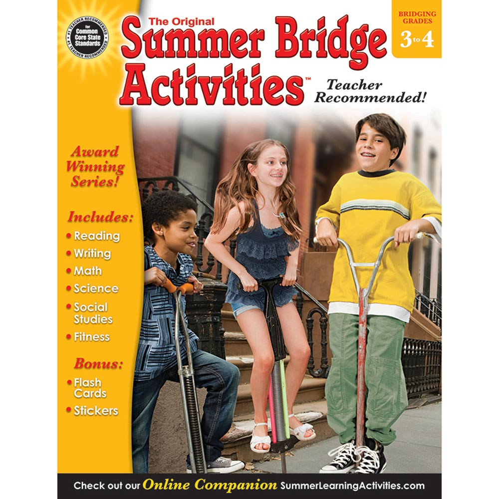 RB-904159 - Summer Bridge Activities Book Gr 3-4 in Skill Builders