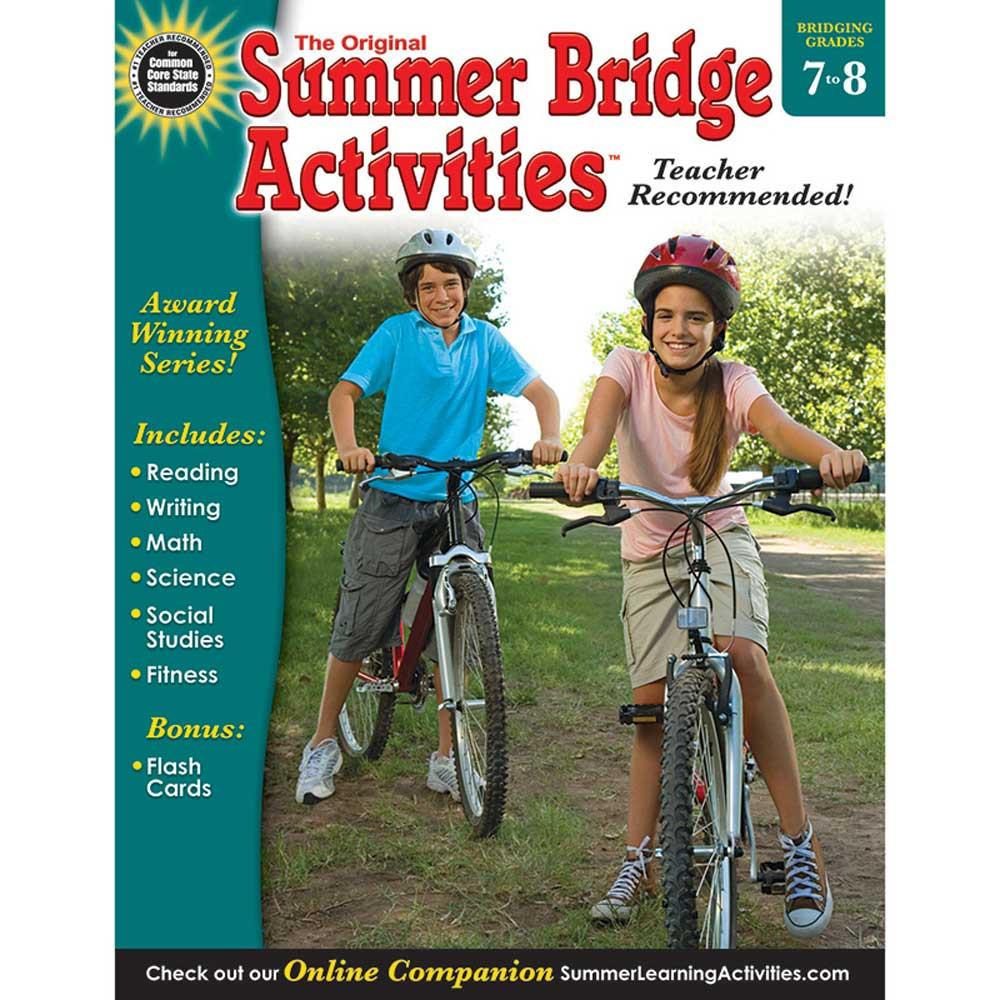 RB-904163 - Summer Bridge Activities Book Gr 7-8 in Skill Builders