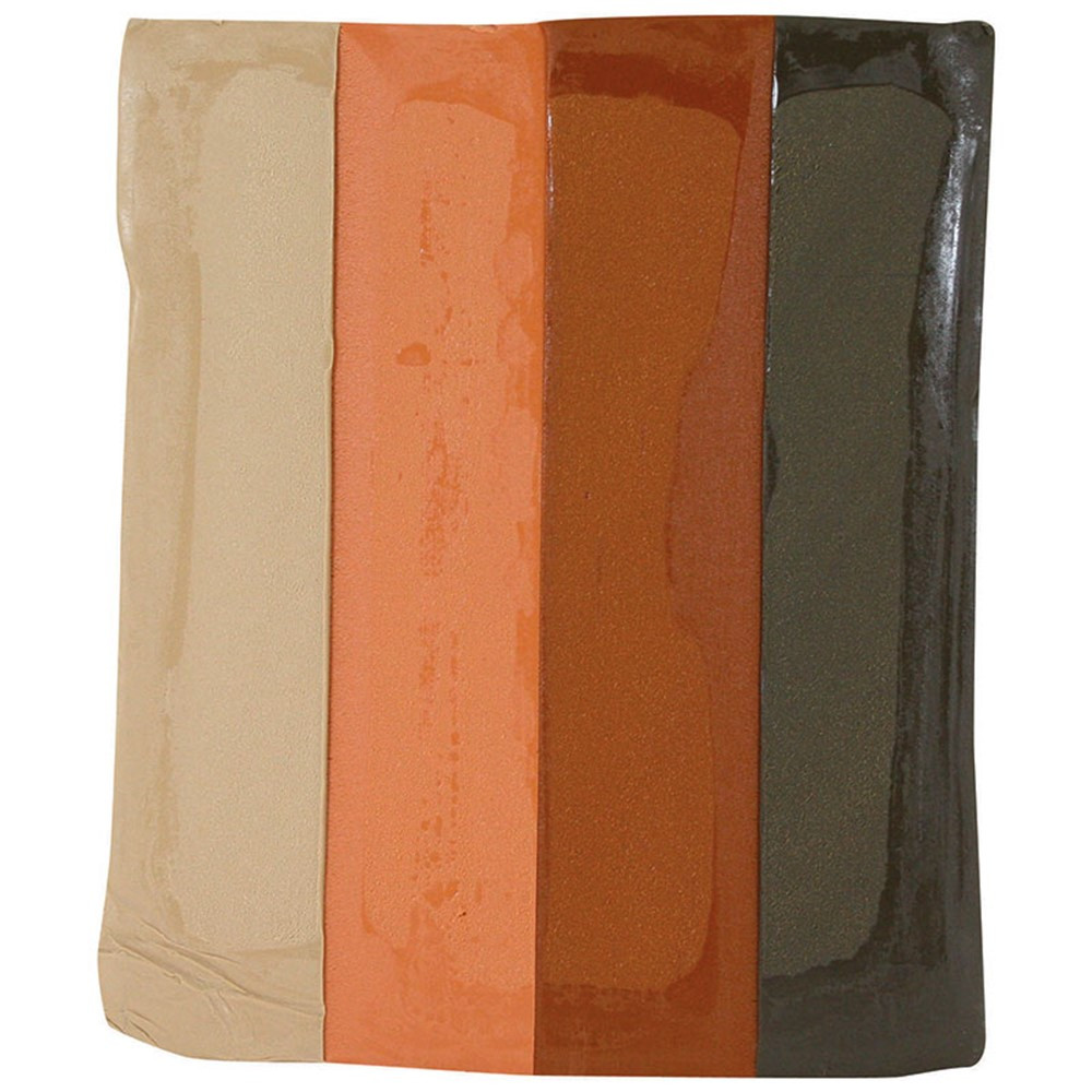 SAR224009 - Sargent Art Modeling Clay Earth Tone Colors in Clay & Clay Tools