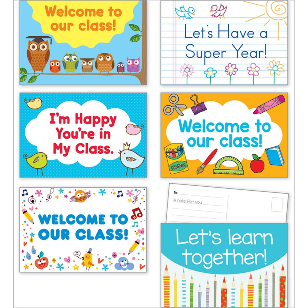 SC-810514 - Back To School Postcards in Postcards & Pads