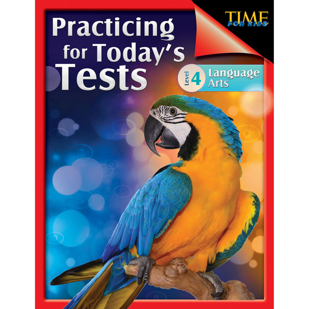 SEP51437 - Practicing For Todays Tests Gr 4 in Language Arts