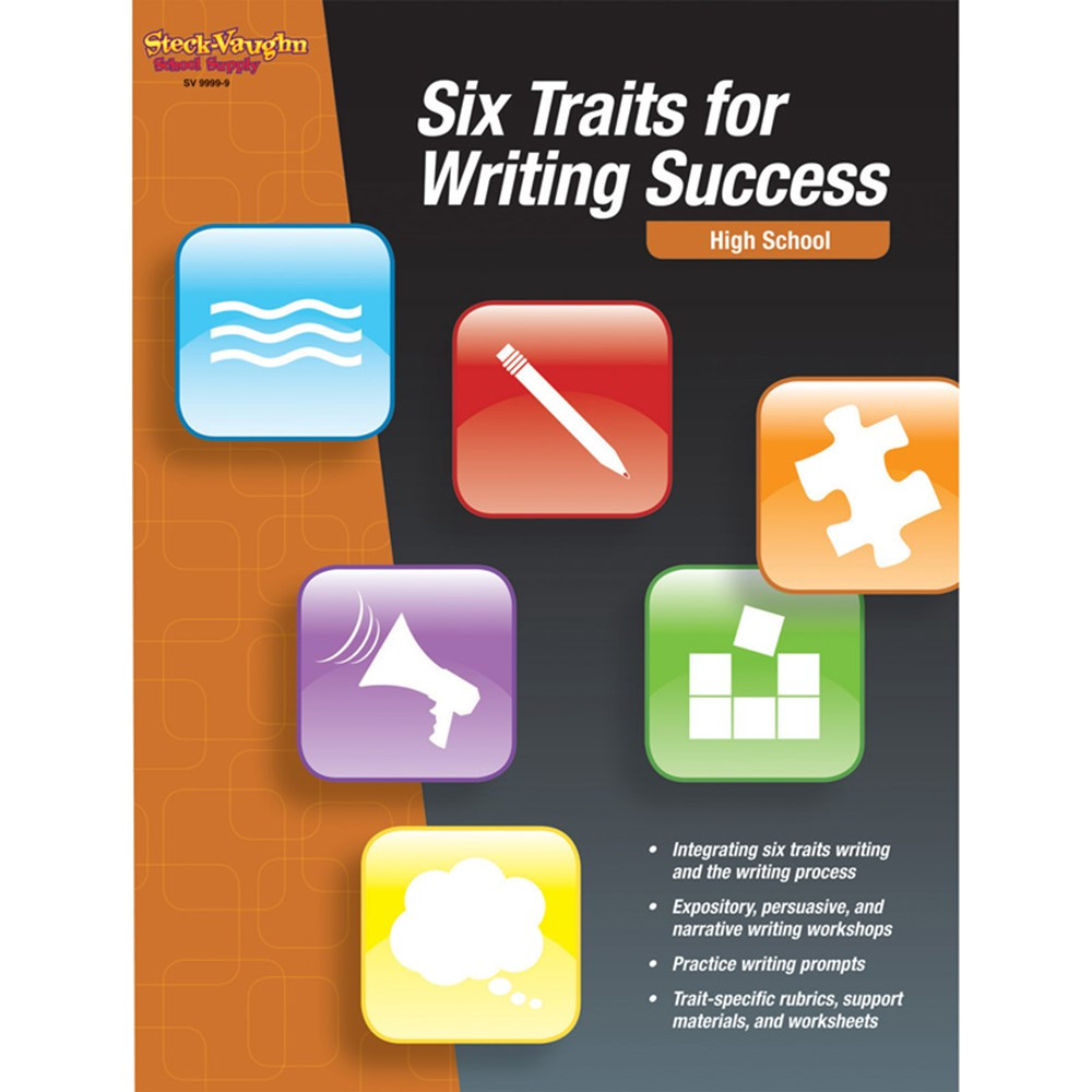 six traits writing Culham writing company helps teachers and students reach their writing goals in classrooms across the us and the world welcome ruth culham, educator and author of the traits of writing 503-372-0600.