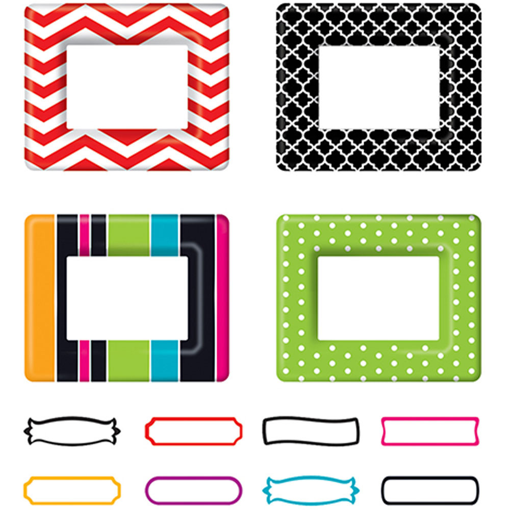 Fun Frames Classic Accents? Variety Pack - T-10630 | Trend ...