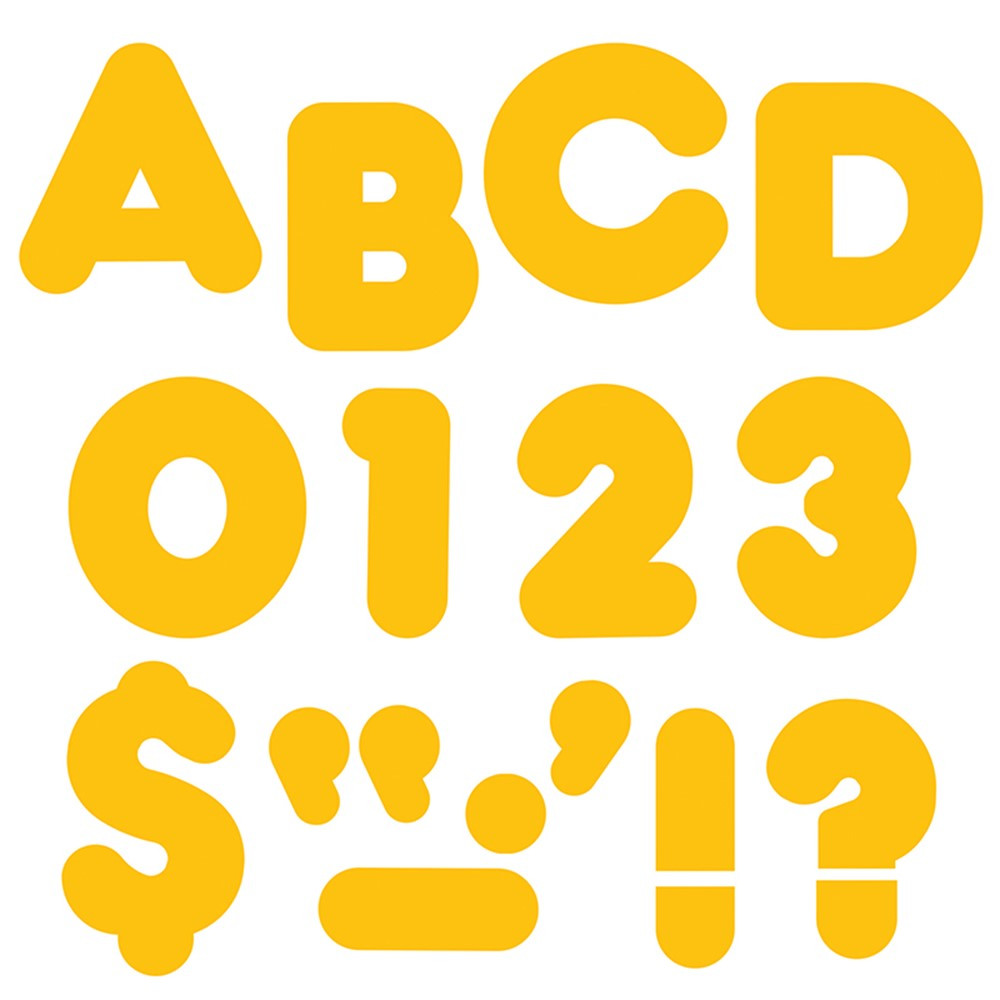 T-1604 - Ready Letters 4 Inch Casual Gold in Letters