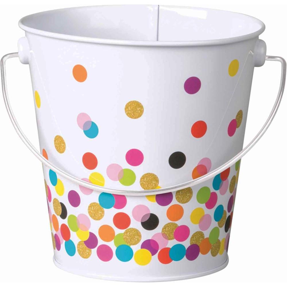 Confetti Bucket - TCR20972   Teacher Created Resources   Desk Accessories