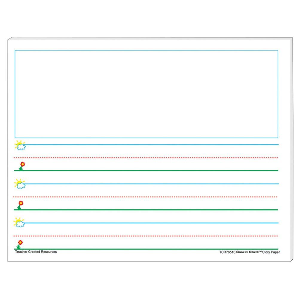 TCR76510 - Smart Start K-1 Story Tablet in Handwriting Paper