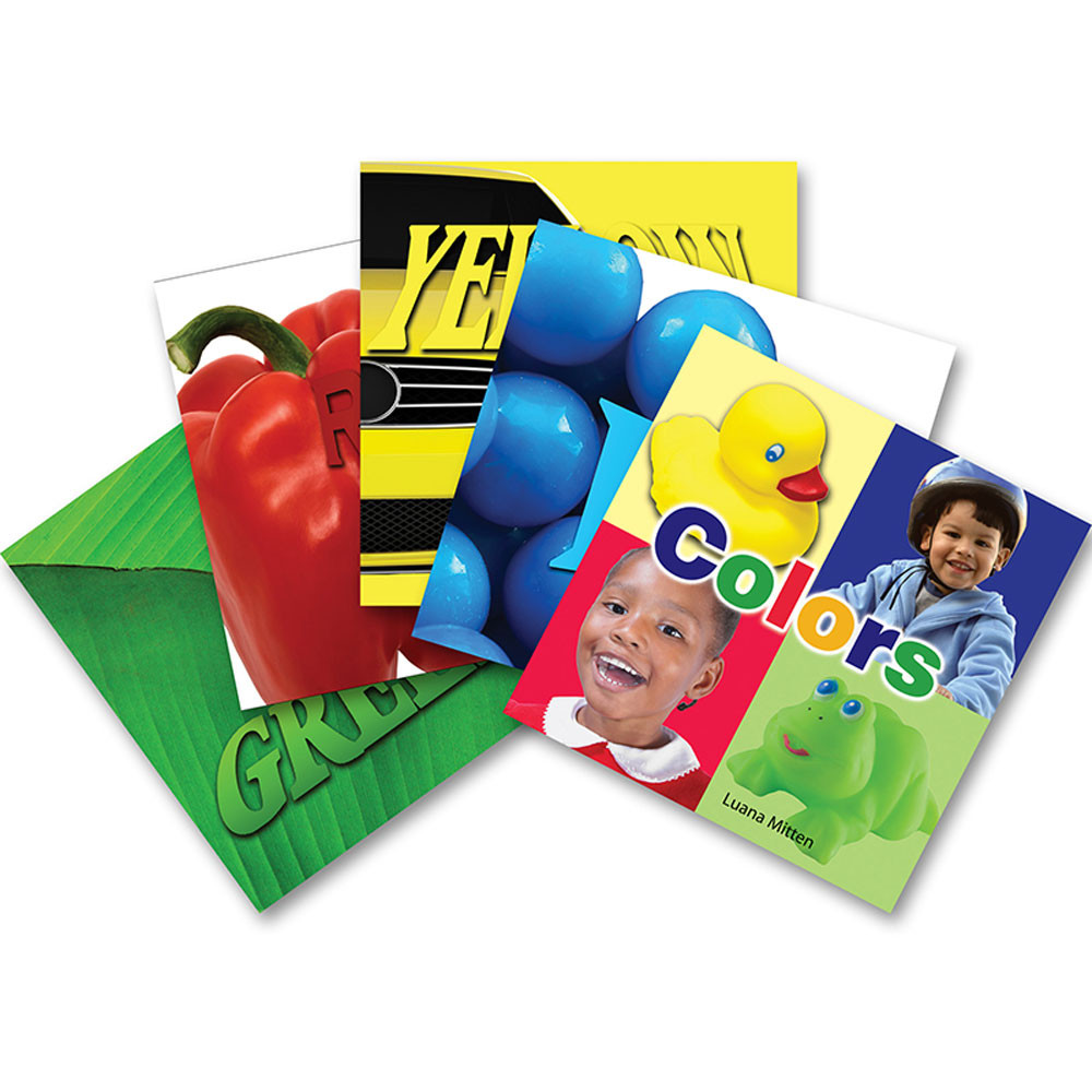 TCR909629 - My Colors Board Books 5 Set in Big Books