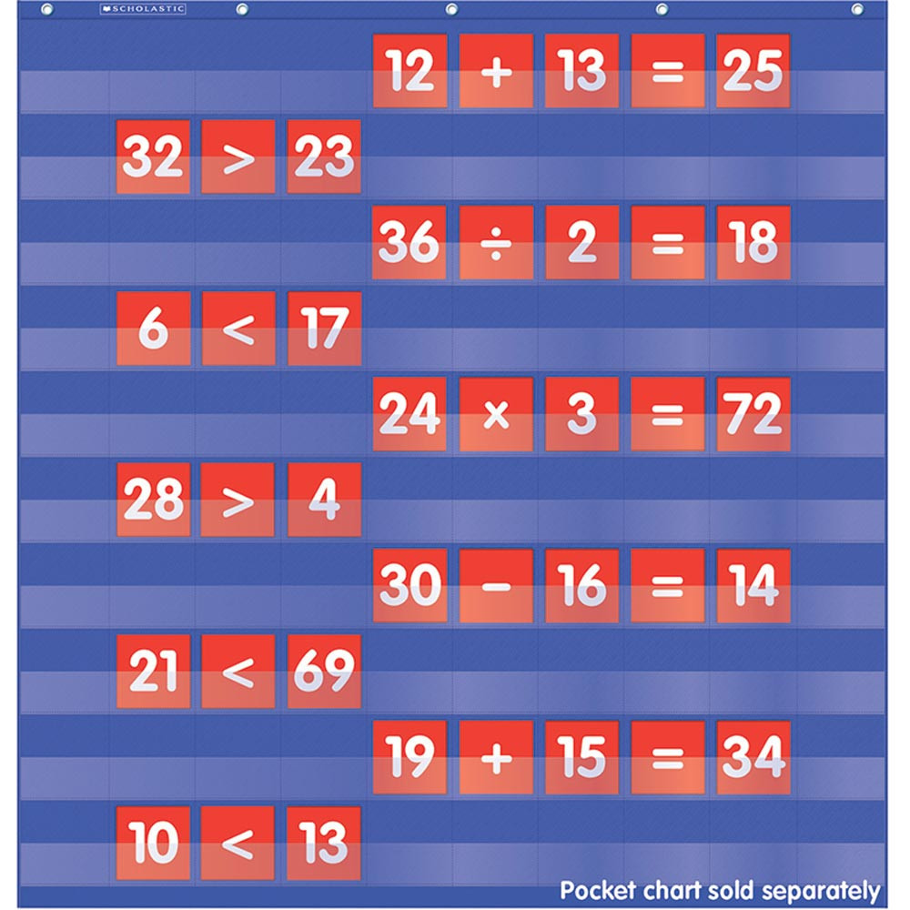 TF-5404 - Numbers & Counting Pocket Chart Add Ons in Pocket Charts