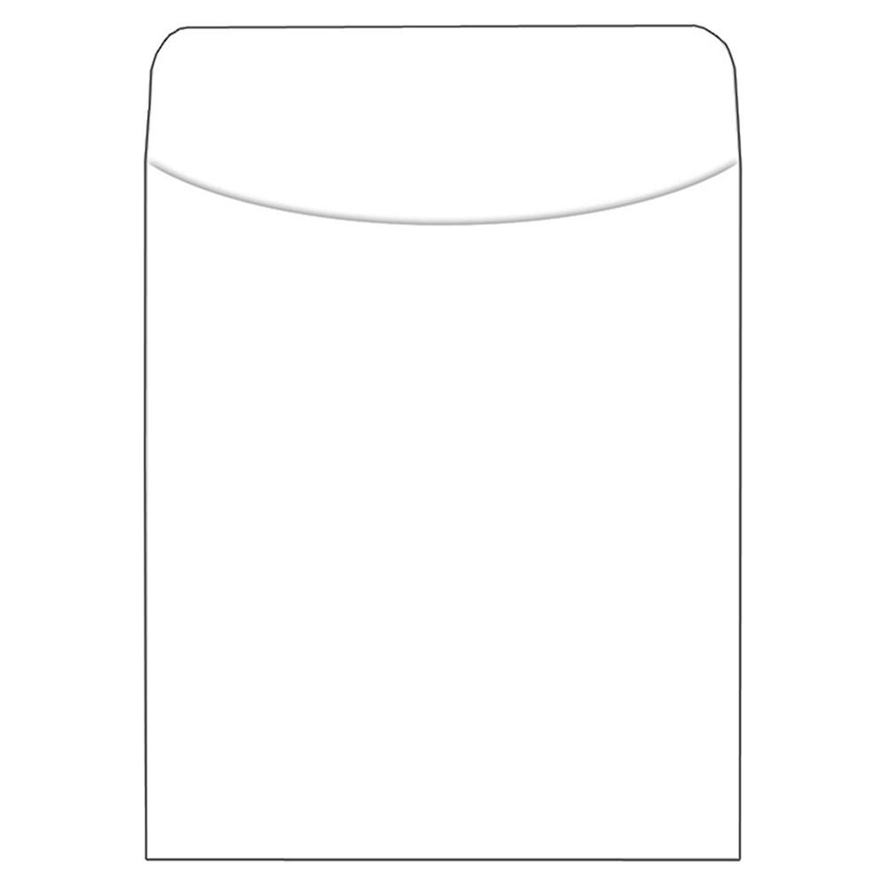 TOP409 - Brite Pockets Bright White 500 Pk in Organizer Pockets