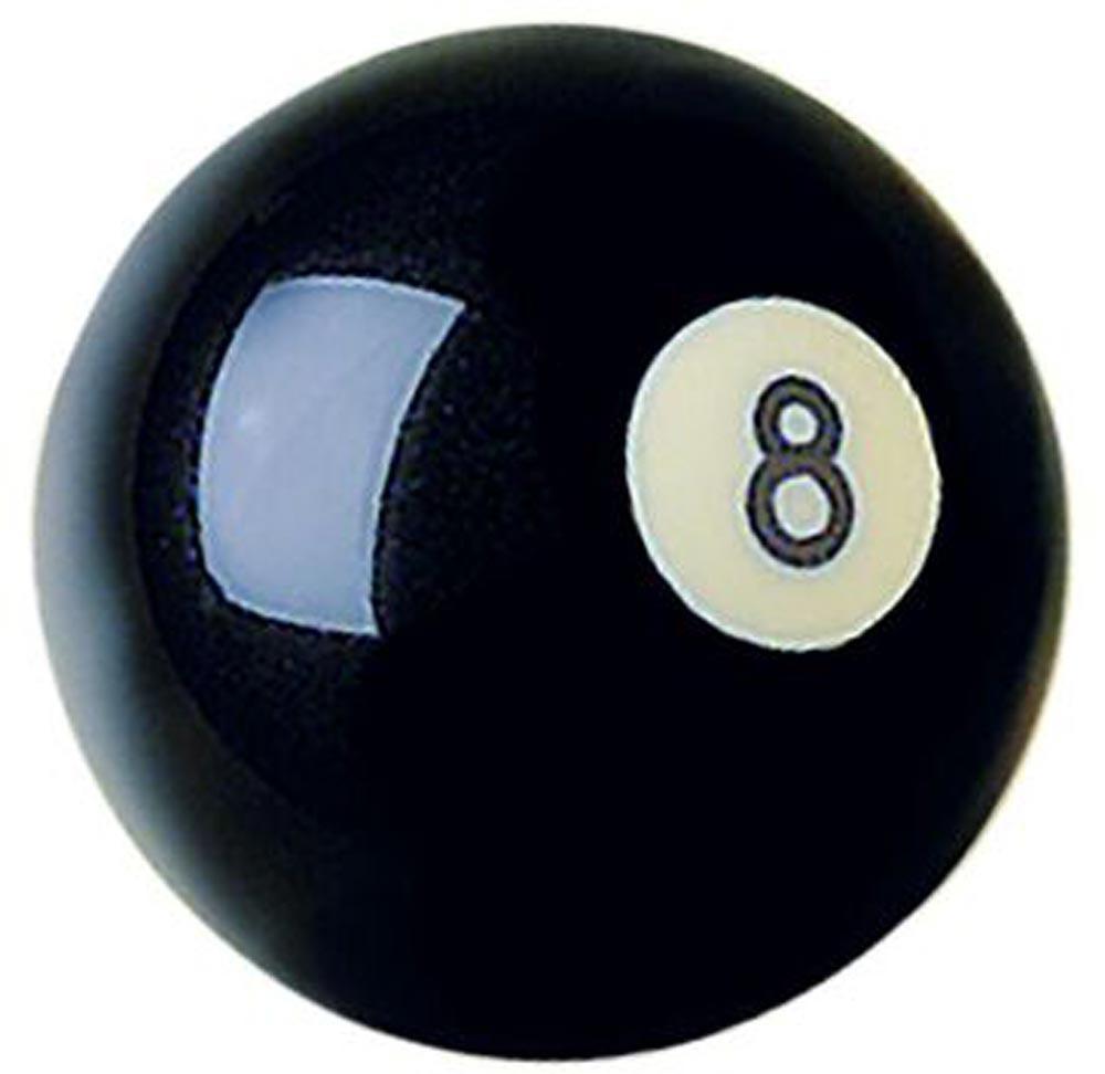 Cast Polyester Crazy 8 Ball
