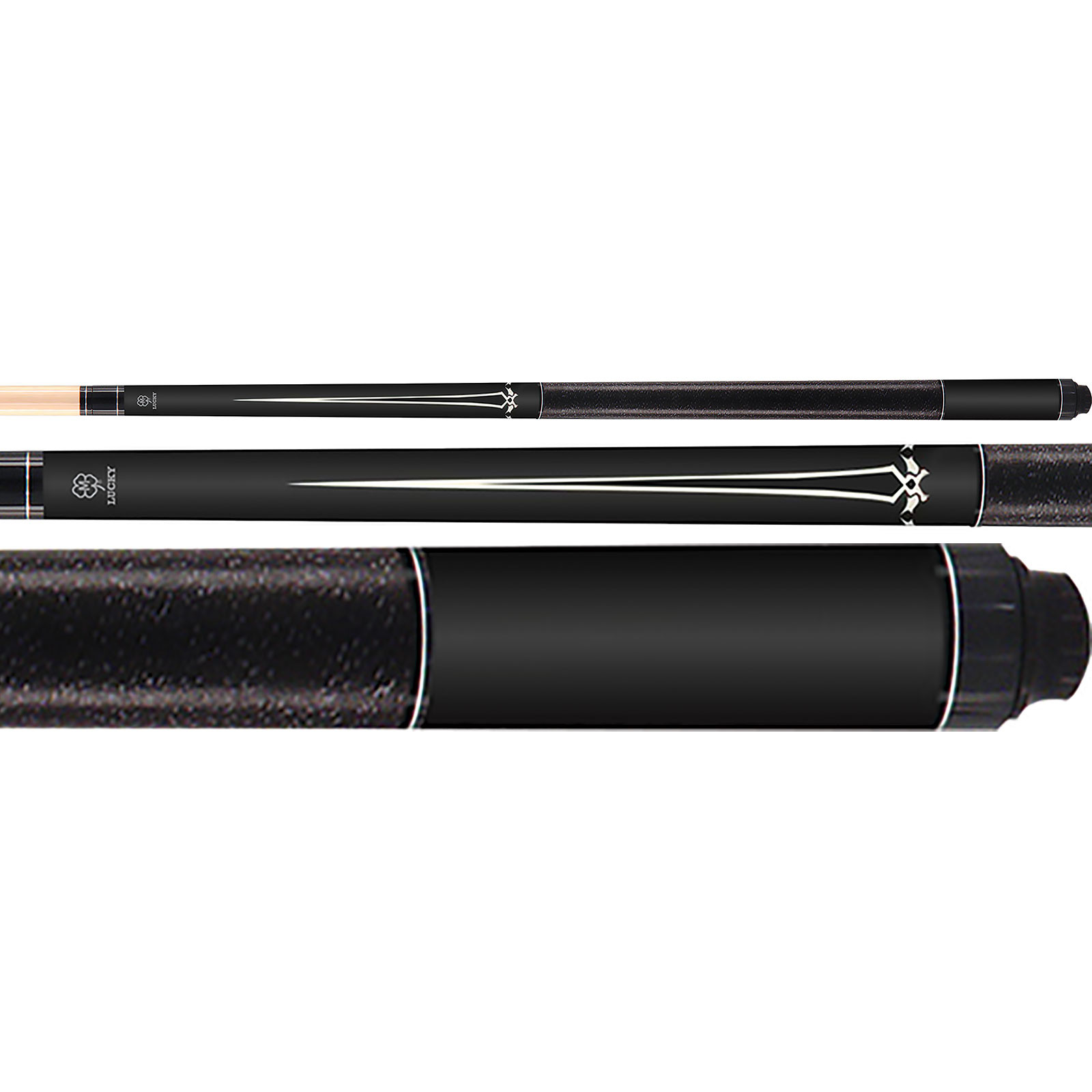 McDermott Lucky Pool Cue, L16, Black