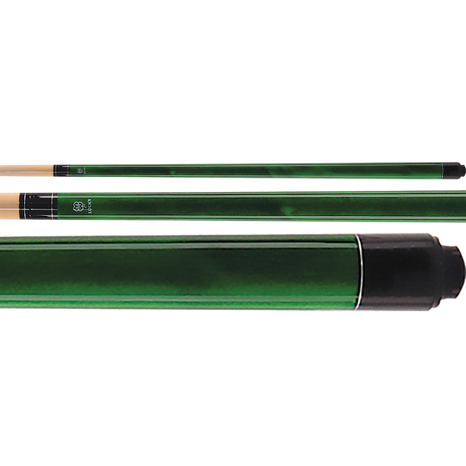 McDermott Lucky Pool Cue, L3, Green