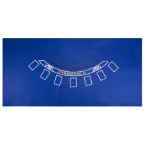 Blue Blackjack Table felt - 72x36