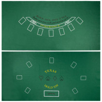 Blackjack & Texas Hold'Em Table Felt