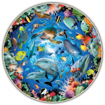 ABW383 - Ocean View Round Table Puzzle in Puzzles